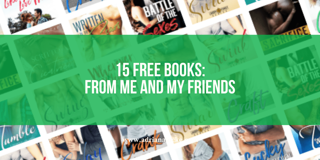 15 Free Books: From Me and My Friends
