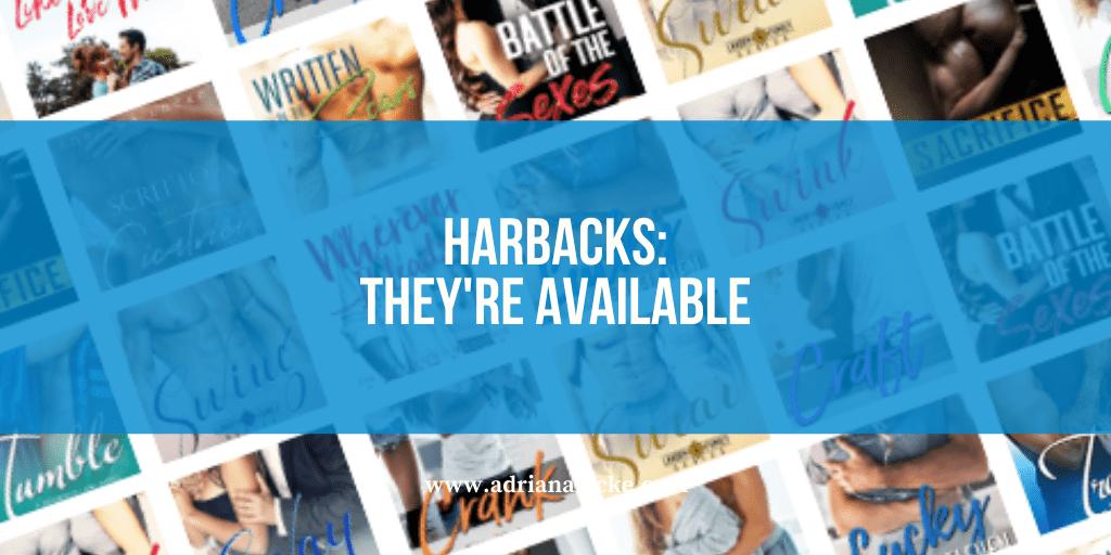 Hardbacks: They're Available