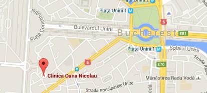 locatie Clinica Oana Niclolau