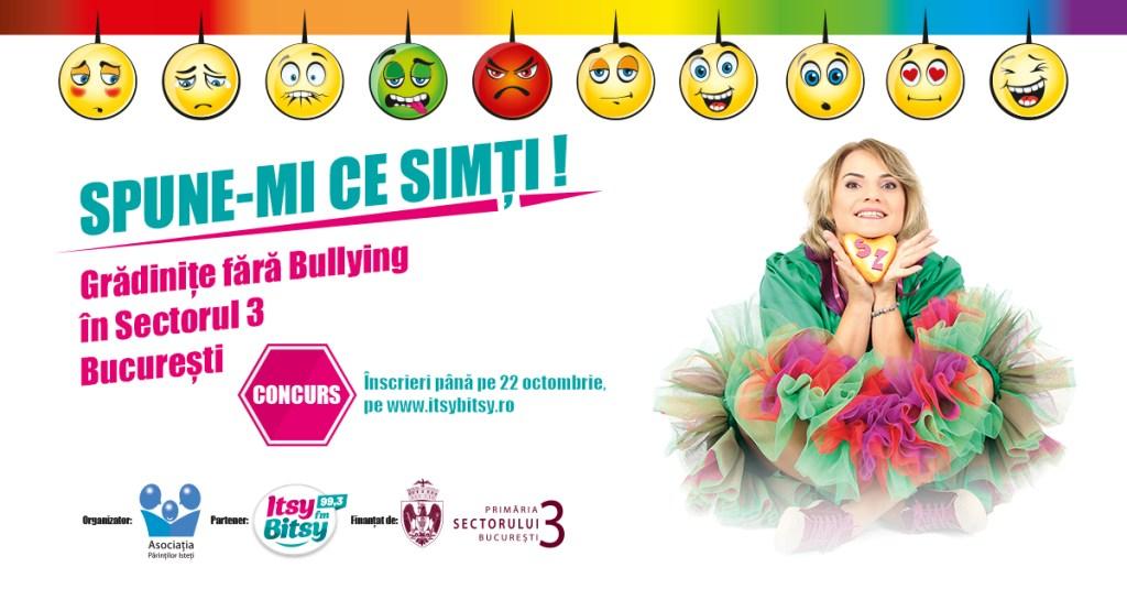 Grădinițe fără bullying - program pilot în București