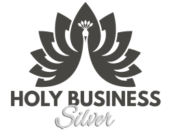 Holy Business Logo-Silver