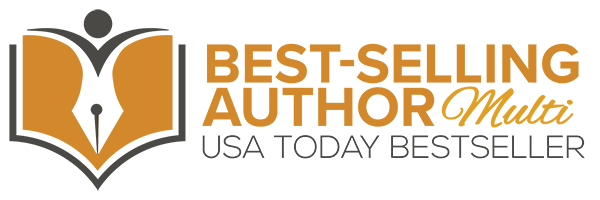 USA Today Best-Selling Author Logo - MULTI WEB