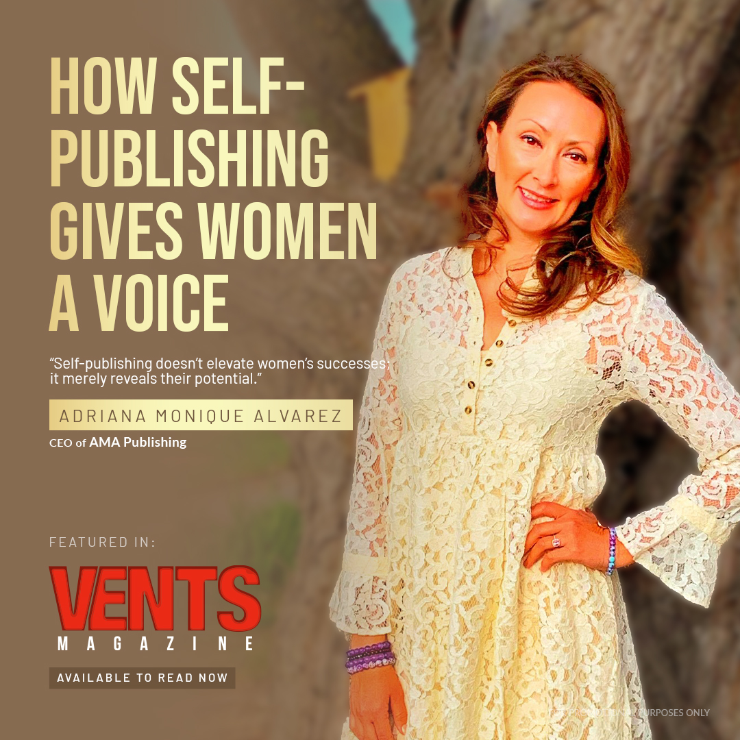 How self publishing gives women a voice featured in Voice