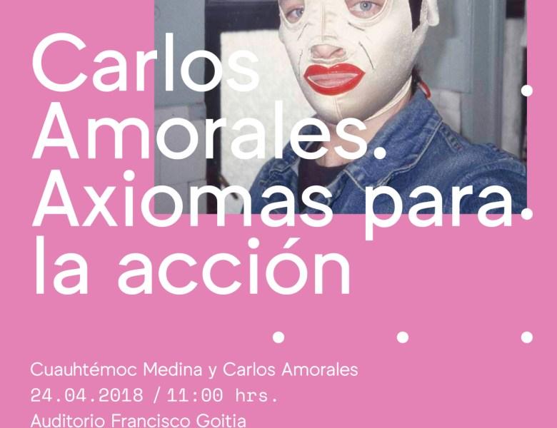 """Conversación sobre la exposición """"Carlos Amorales. Axiomas para la acción"""". Cuauhtémoc Medina y Carlos Amorales"""