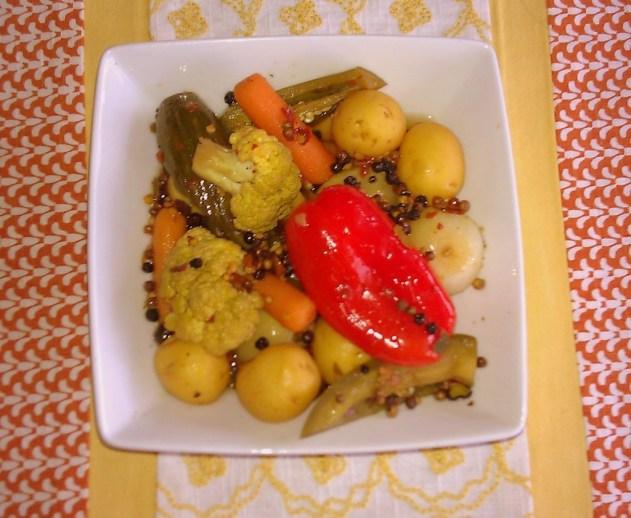 Pickled Veggies Delight #ABRecipes