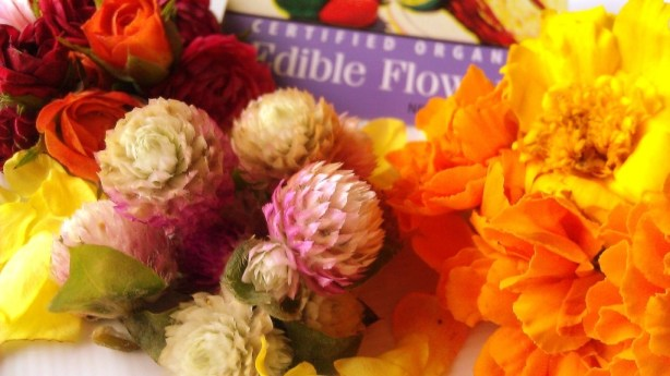 Edible Flowers, cooking with flowers