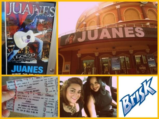 Juanes VIP experience #AlEstiloBrisk