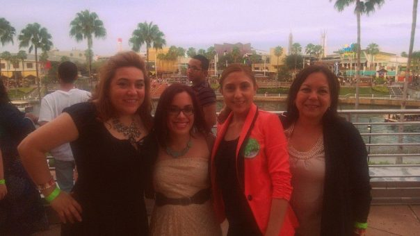 Laurita Tellado,  Brenda Herrera (the one who made it all happen for us!!) and Myrna Calderon ~ Photo courtesy of Laurita Tellado