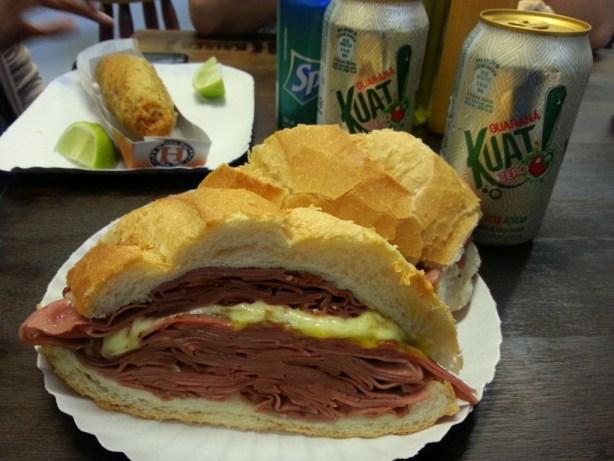 Brazilian Mortadela Sandwich