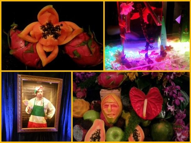 Creative displays at Taste of the Nation #OrlTaste