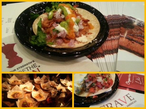 Taco Offerings at Taste of the Nation #OrlTaste