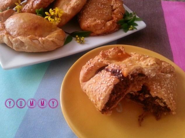 Mole Empanadas serving suggestion #ABRecipes