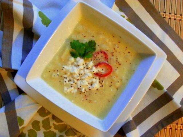 Potato Cream Soup #ABRecipes #AuténticoCheeseSociety