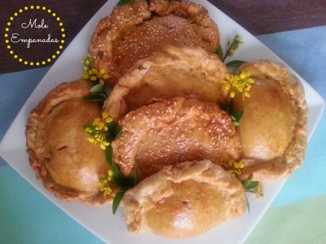 Mole Empanadas #ABRecipes