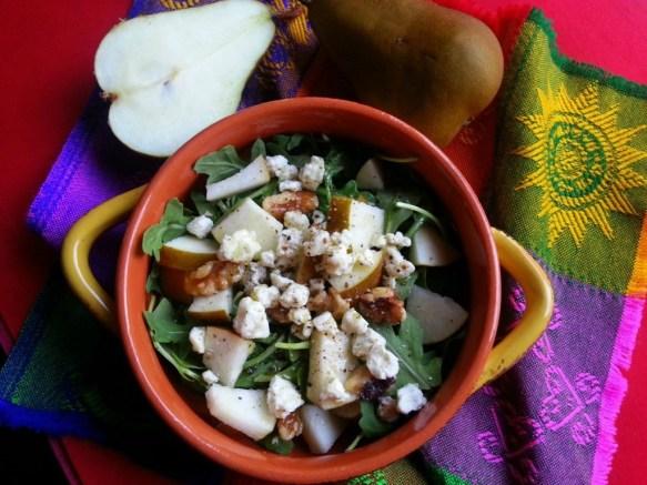 Pear Salad #ABRecipes