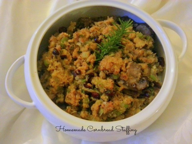 Homemade Cornbread Stuffing #ABRecipes