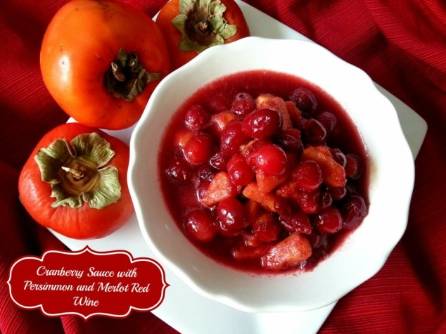Cranberry Sauce with Persimmon  #ABRecipes