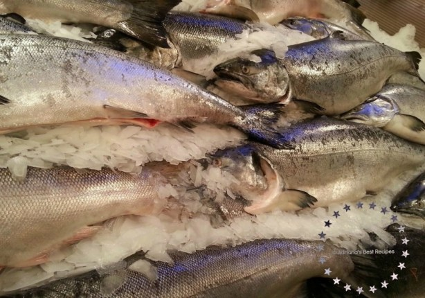 Fresh Salmon at Pike's Place #ABRecipes