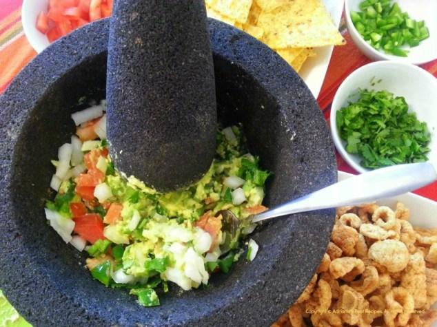 Fresh Guacamole #ABRecipes