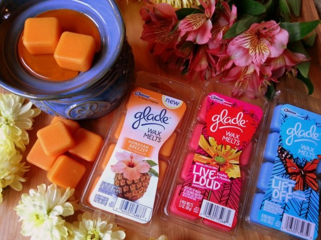 The Glade® Wax Melts fragrances are blended with high quality essential oils #MeltsBestFeelings #shop