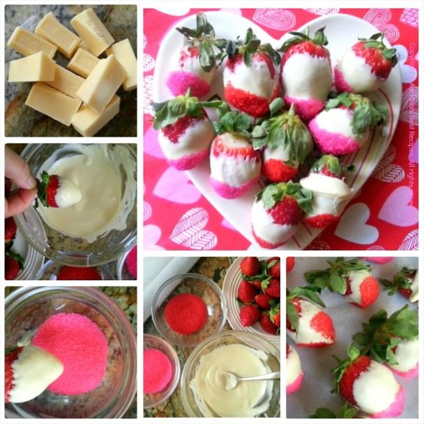 How to prepare white chocolate strawberries #ABRecipes