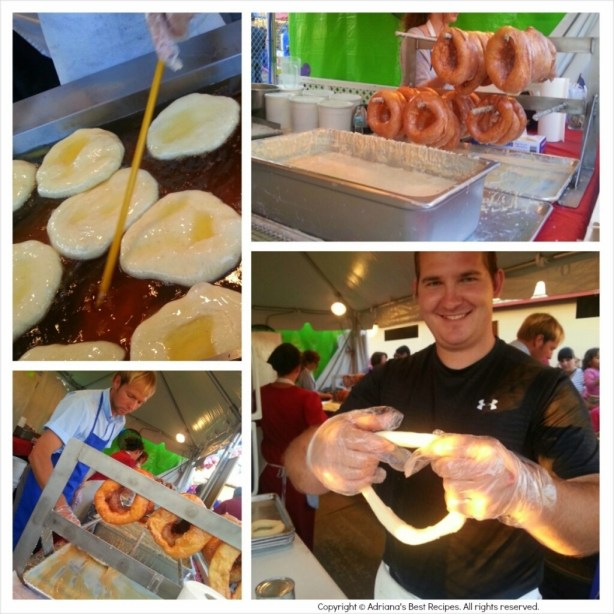 Amish Donuts at the Strawberry Festival #ABRecipes