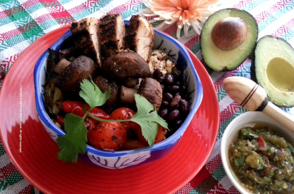 Mexican Bowl for the #MushroomMakeover #Ad
