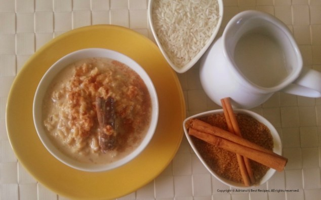 Mexican Rice Pudding a humble dessert #ABRecipes