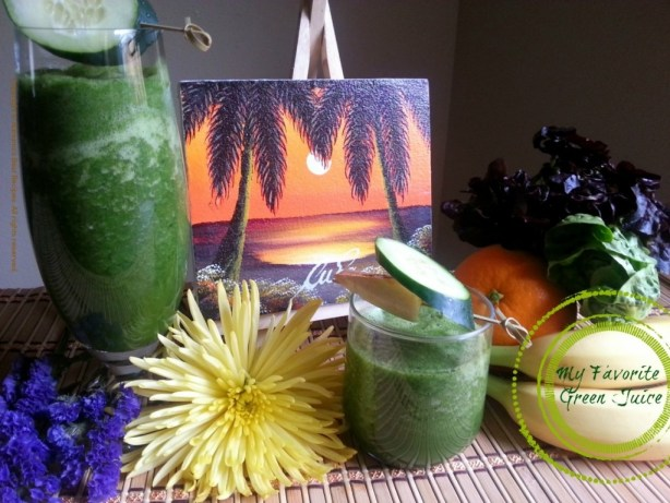 My Favorite Green Juice #ABRecipes