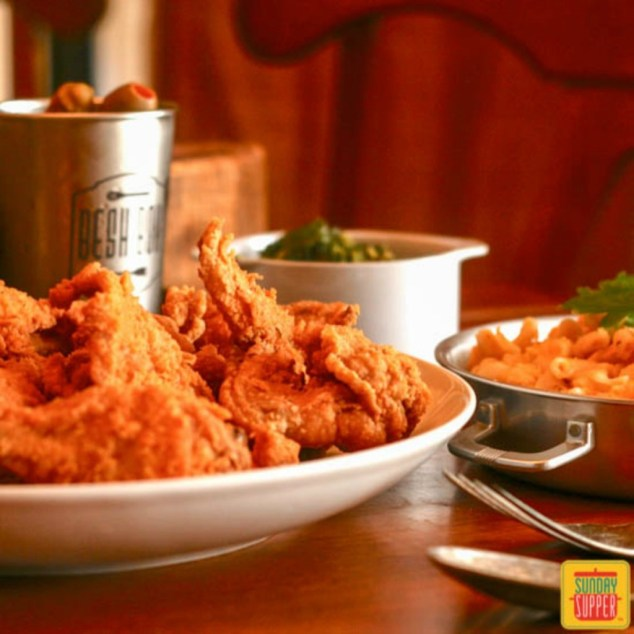 New Orleans Fried Chicken recipe from Isabel Laessig Family Foodie. Photo Credit Sunday Supper. All rights reserved.