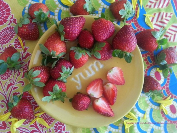 Yummy Organic Strawberries #ABRecipes