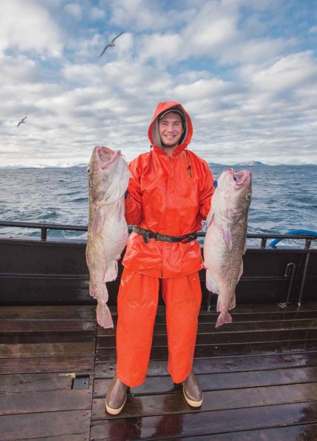 Alaska Cod Fisherman #ASMI #WildAlaskaFlavors