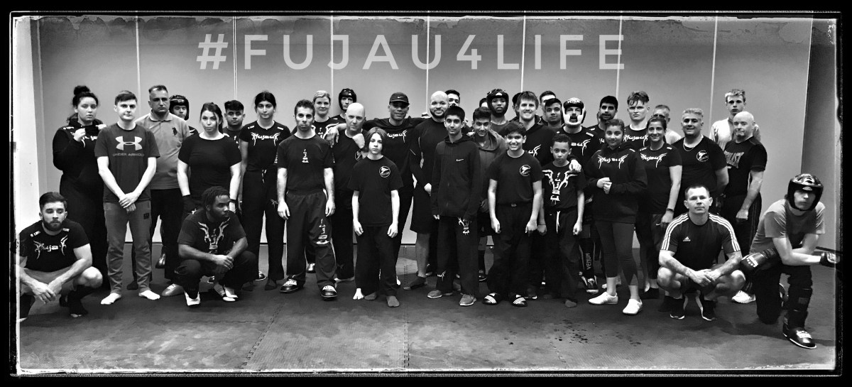 Fu Jau Kickboxing & Martial Arts Academy In Slough Berkshire after Muay Thai Class