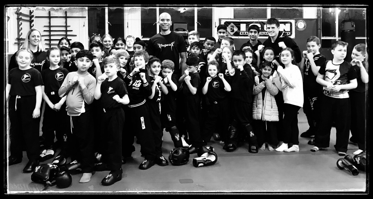 Fu Jau Kickboxing & Martial Arts Academy in Slough Berkshire after great children's class