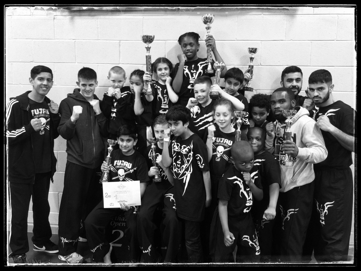 Fu Jau Kickboxing & Martial Arts Academy in Slough Berkshire Children win Titles