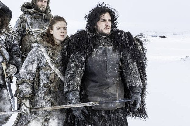 john snow and ygritte