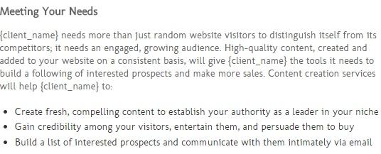 freelance bid template