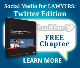 Social Media For Lawyers - Twitter Edition - Free Chapter