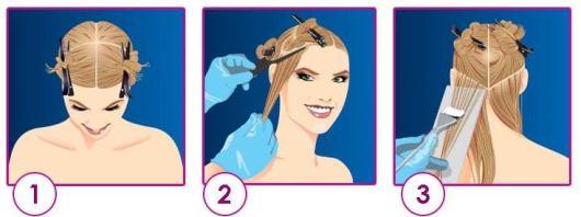 cabelo-luzes-passoapasso-aplicação