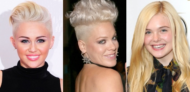 cabelos platinados são tendencia de verao