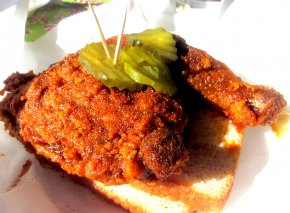 Hot Chicken at Hattie B's