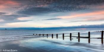 Sunset Wales UK