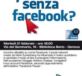 Si può vivere senza Facebook ?