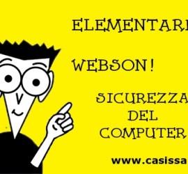 elementare webson sicurezza del computer