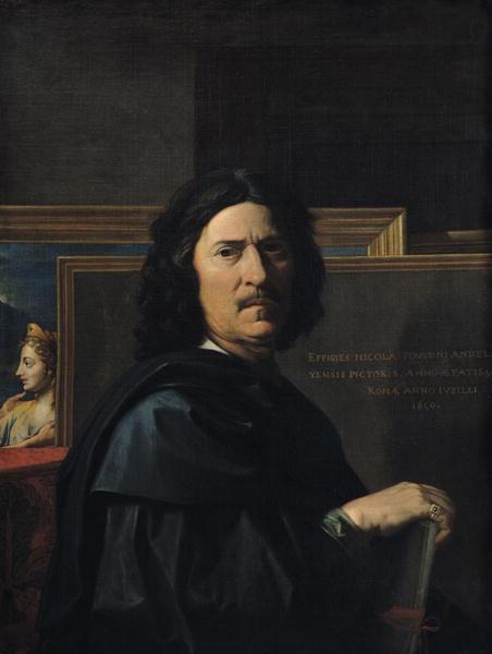Nicolas Poussin, Autoritratto, 1650