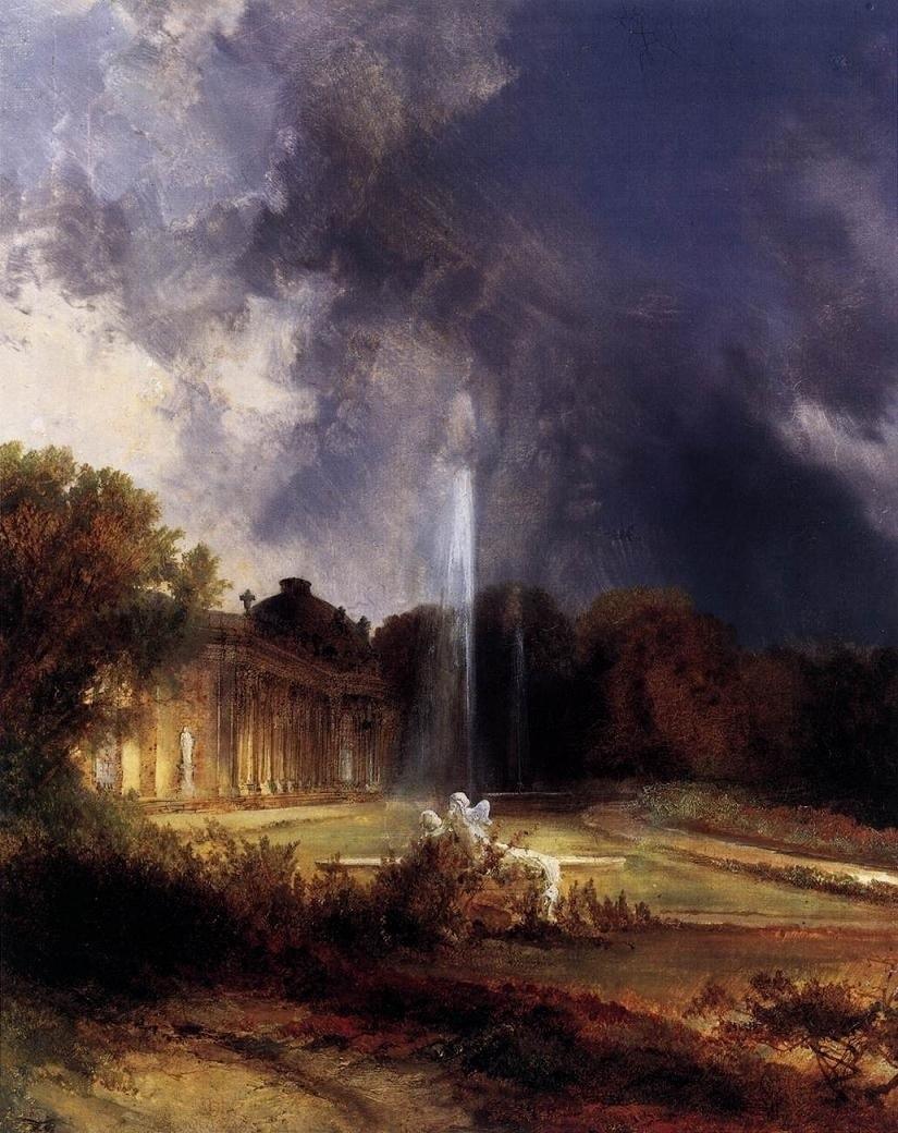 Carl Blenchen, Il Palazzo di Sans Souci