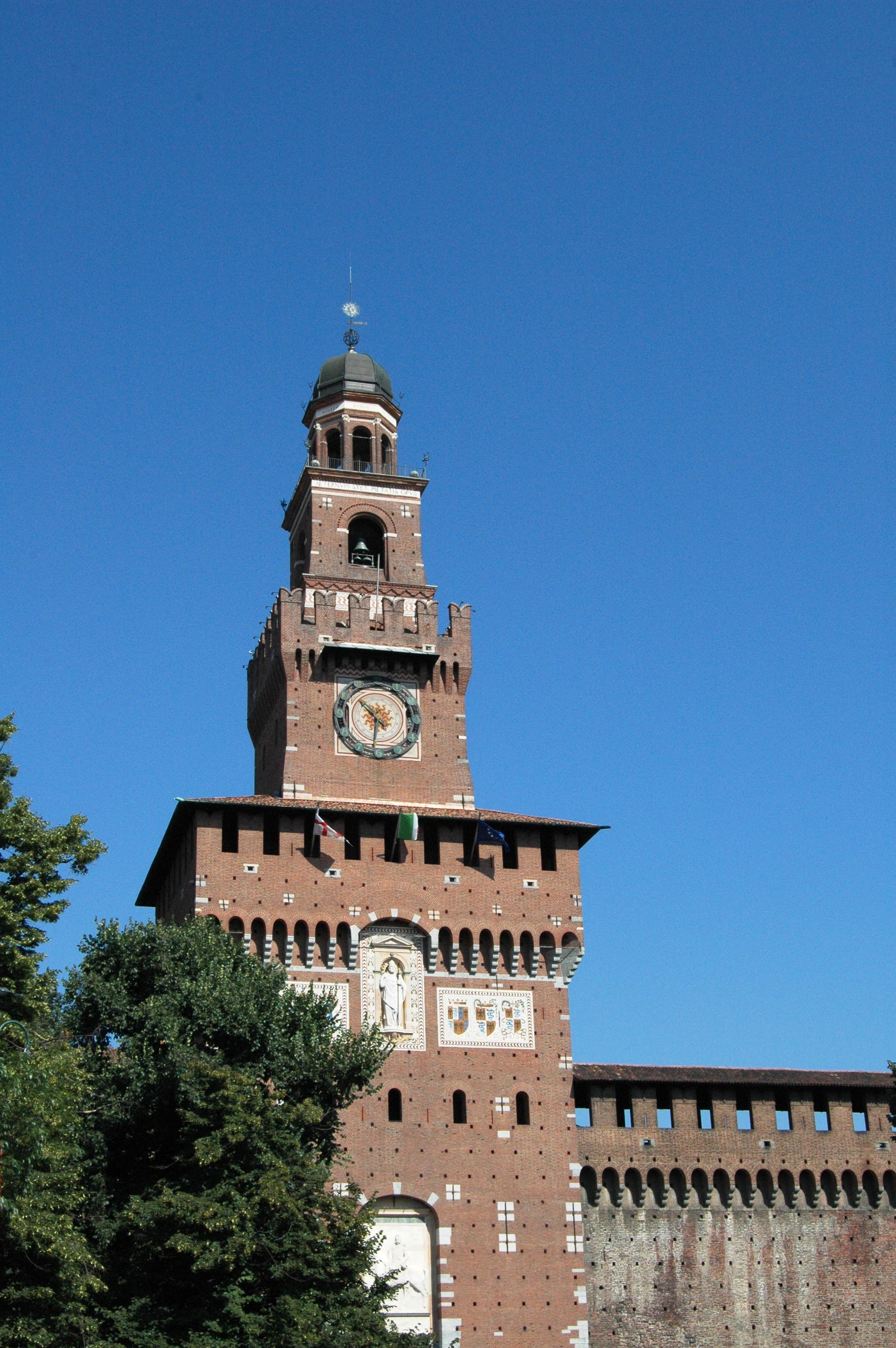 Milano, Castello Sforzesco, Torre del Filarete