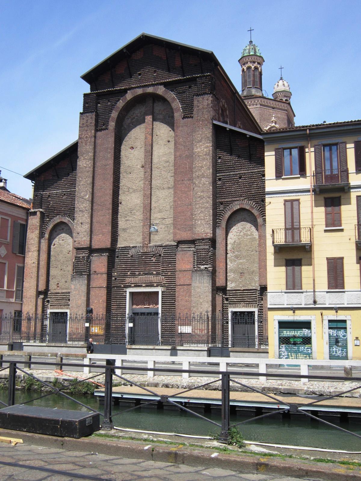 Milano, Santa Maria delle Grazie al Naviglio