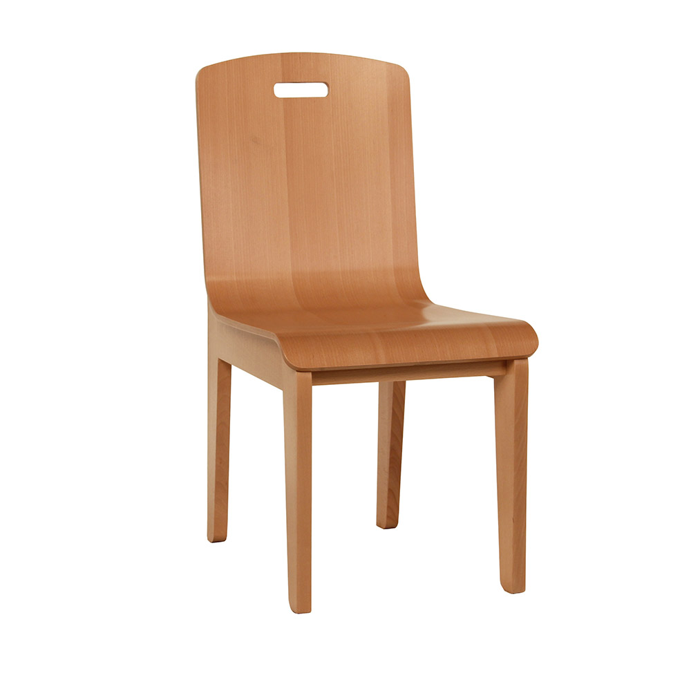 Bent Plywood Chair  adriano seating