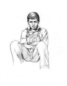 jem_finch_To Kill a Mockingbird_story_novel_mixed media